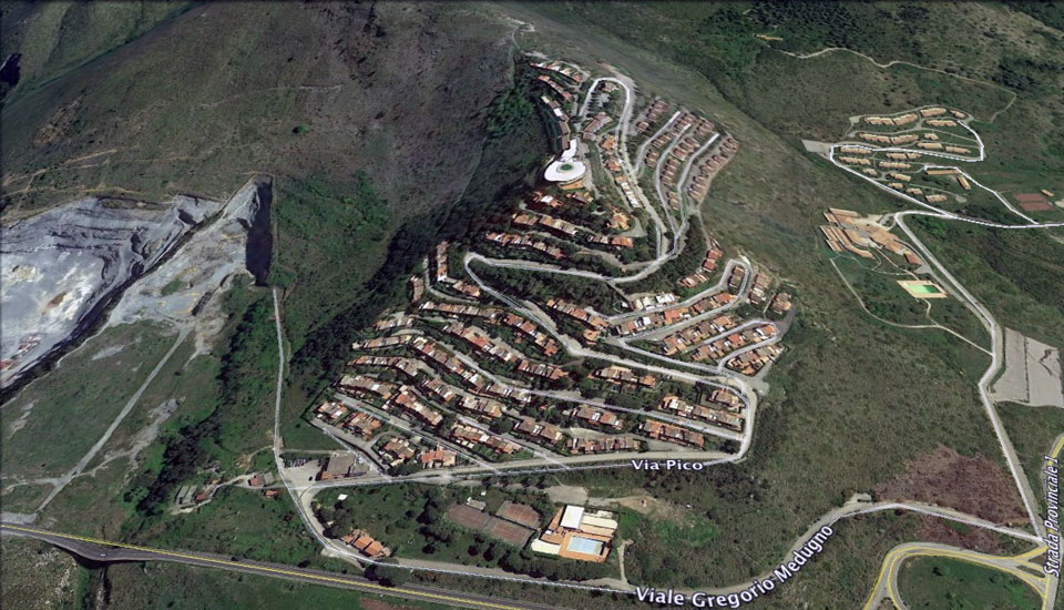 villaggio bridge san nicola arcella