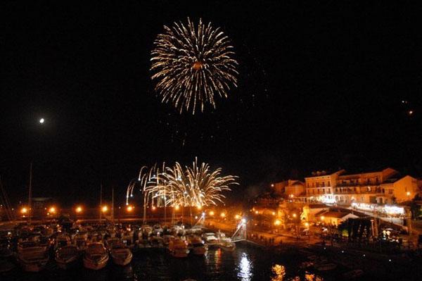 il Porto di Maratea di notte (foto: visitmaratea.it)