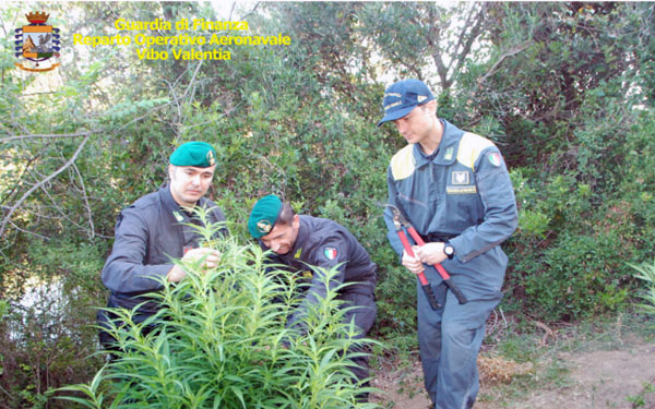 Finanziari del Comando Provinciale e della Sezione Operativa Navale della Guardia di Finanza di Crotone.