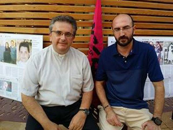 Don Ennio Stamile e Paolo Panaro