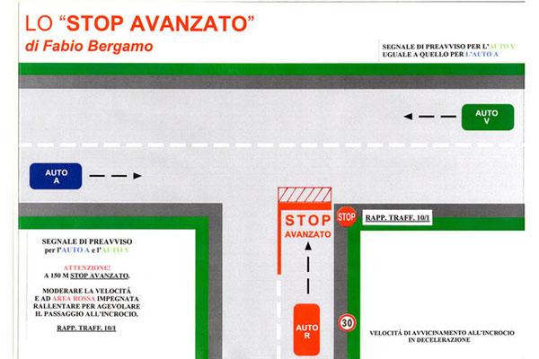 Lo Stop avanzato di Fabio Bergamo (foto: omniauto.it)