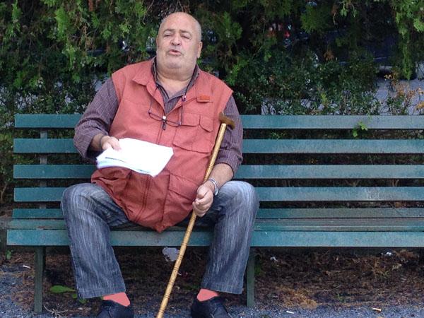 Gino Domenico Spolitu annuncia l'importante novità nel piazzale della Casa della salute di Praia a Mare
