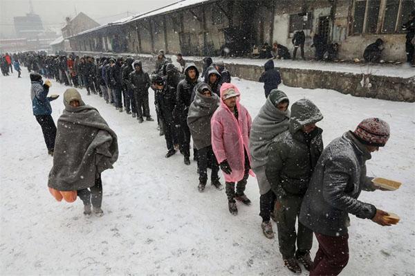 migranti profughi rotta balcanica calabria