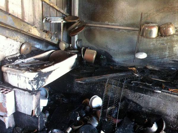 lauria incendio casa distrutta