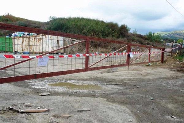 scalea discarica piano acqua sequestro 2010
