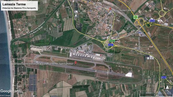 lamezia terme aeroporto stazione