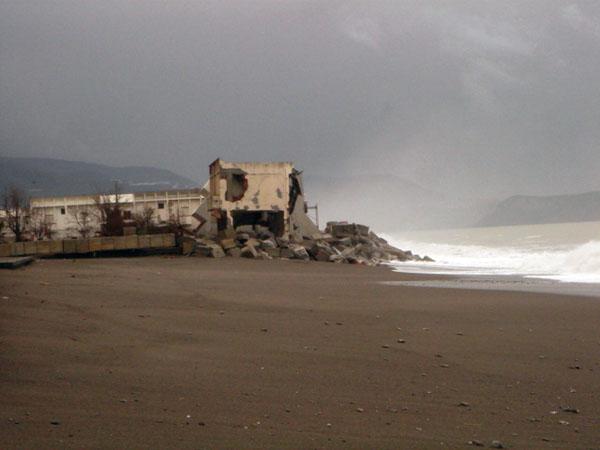 tortora erosione costiera ripascimento