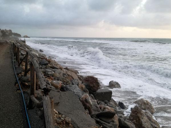 bonifati mareggiata 2017 erosione costiera