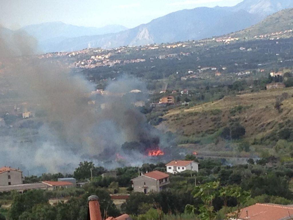 Incendio Santa Maria del Cedro