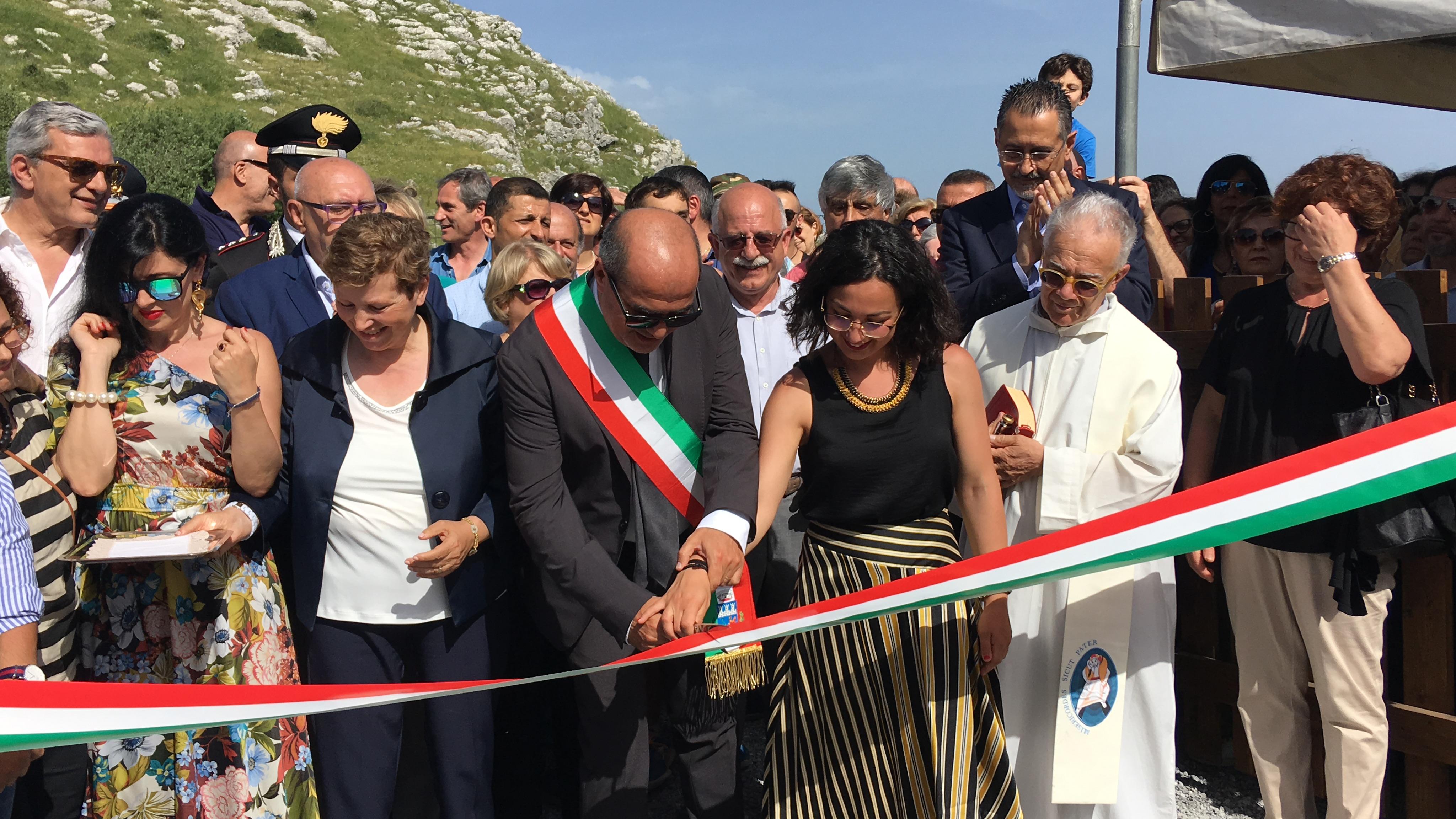 """Trecchina. Inaugurato il """" Parco delle Stelle """". In quota attrazioni adrenaliniche."""
