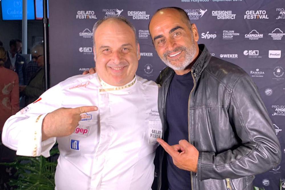 Francesco Mastroianni gelato festival usa hollywood los angeles
