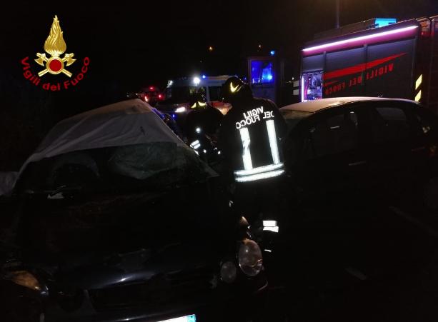 quattro giovani cosentini morti incidente stradale a Rende