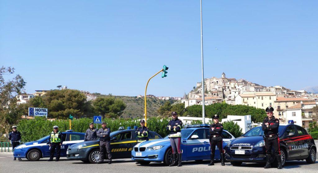 carabinieri polizia finanza scalea
