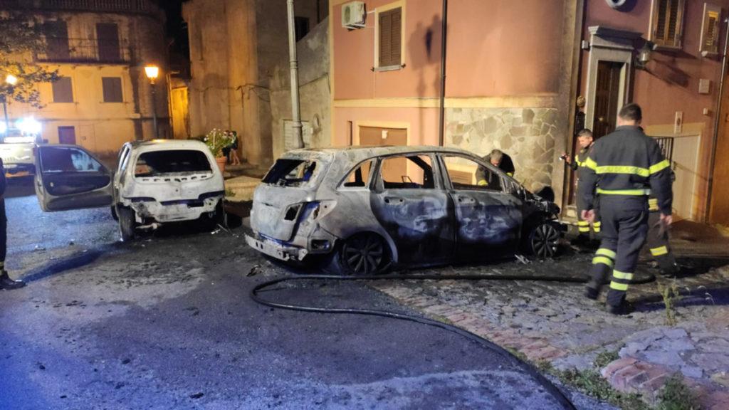santa domenica talao incendio auto