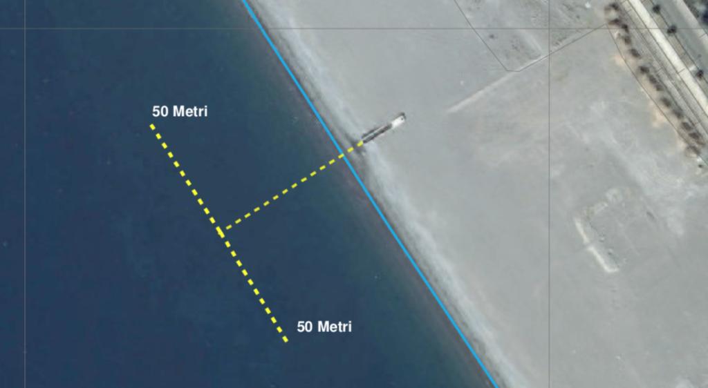 praia a mare canale sottomarlane balneazione