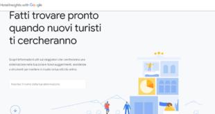 turismo italia google hotel insghts