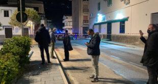 cetraro spari auto carabiniere