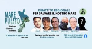 mare pulito tirreno cosentino dibattito regionale