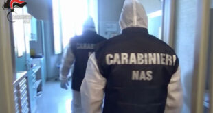 carabinieri nas controlli rsa italia pasqua