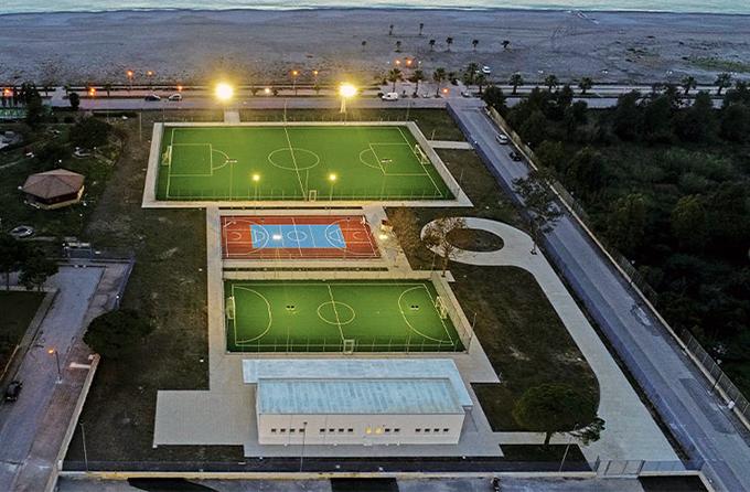 centro sportivo praia a mare