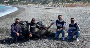 bonifica fondali isola dino praia mare gavitelli guardia costiera