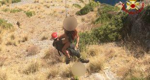 Maratea soccorsi quattro escursionisti ad Acquafredda