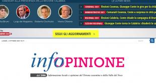 elezioni regionali calabria comunali 2021 infopinione lac